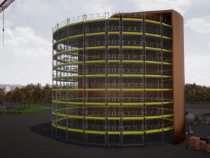 HAKI BIM - 9Design Scaffold Design Case Study